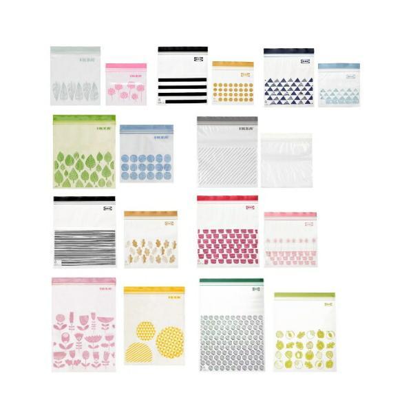 IKEA イケア フリーザーバッグ プラスチック袋 2サイズセット ISTAD v0910|clair-kobe