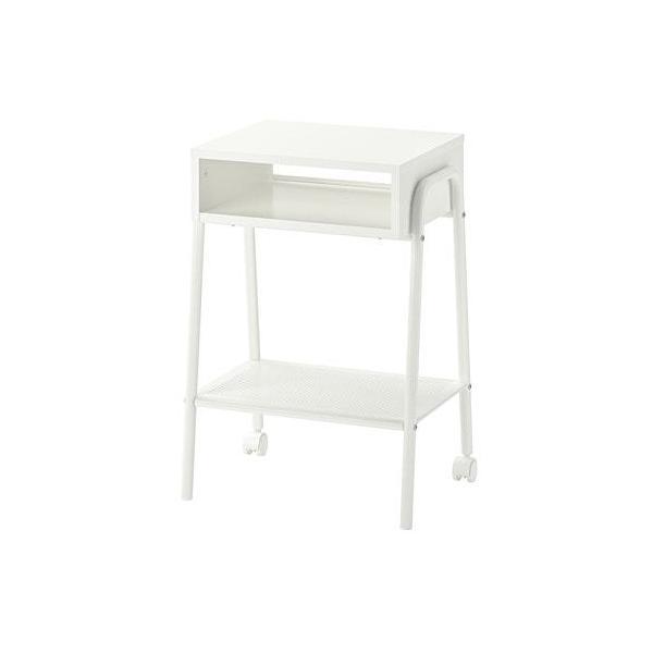 IKEAイケアSETSKOGセットスコグベッドサイドテーブルホワイト白45x35cmz20320350