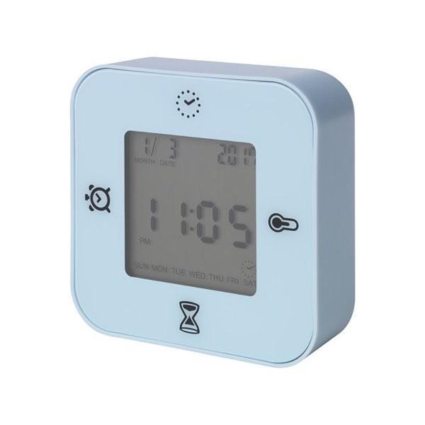 RoomClip商品情報 - IKEA イケア 時計/温度計/アラーム/タイマー ライトブルー z40384826 KLOCKIS クロッキス