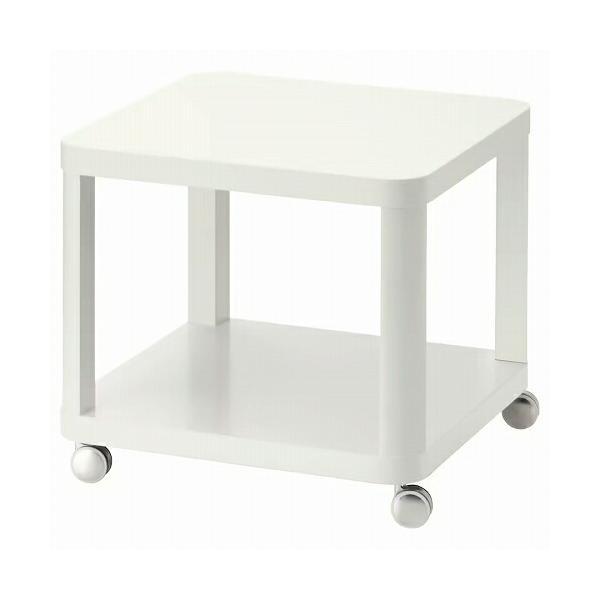 IKEAイケアTINGBYティングビーサイドテーブルキャスター付きホワイト白50x50cmz60295928