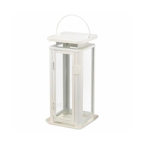 RoomClip商品情報 - IKEA イケア ブロックキャンドル用ランタン 室内/屋外用 ホワイト z80334684 SINNESRO