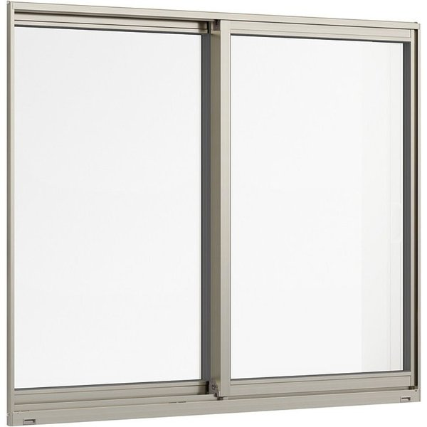 サーモスL一般複層ガラス樹脂アルミ複合サッシ引違い窓単体サッシ2枚建呼称07407W:780mm×H:770mmLIXILリクシ
