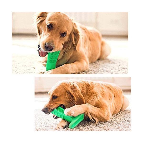 ワンちゃん自らが進んで歯磨きをしたくなる犬用歯ブラシ 「中サイズ」|clairdelune9126|03
