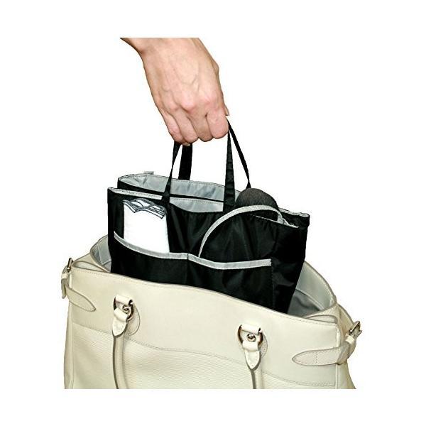 2つ に わかれる バッグインバッグ