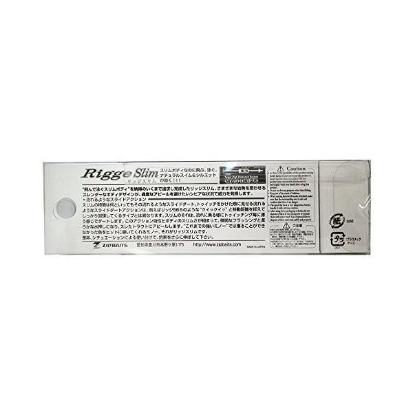 ジップベイツ ミノー リッジスリム 60SS 60mm 3g チャートヤマメOB #487 ルアー