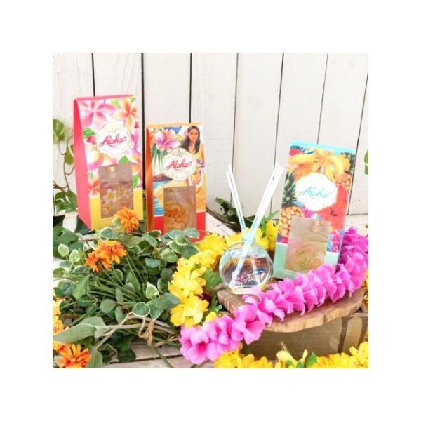フレグランス ハワイ Kahiko ハワイアンフレグランス ラタンディフューザー ココナッツ プルメリア ピカケ ハワイの香り clara-hawaii