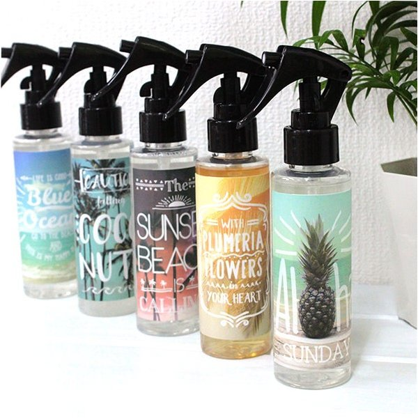 ハワイ 雑貨 Kahiko アロハ消臭スプレー ルームスプレー ハワイの香り 癒し|clara-hawaii