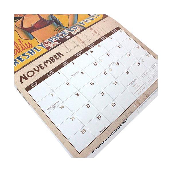 ハワイ カレンダー 2020 インテリア 雑貨 Island Heritage 2020年 ハワイアン DXカレンダー Vintage Hawaii|clara-hawaii|03