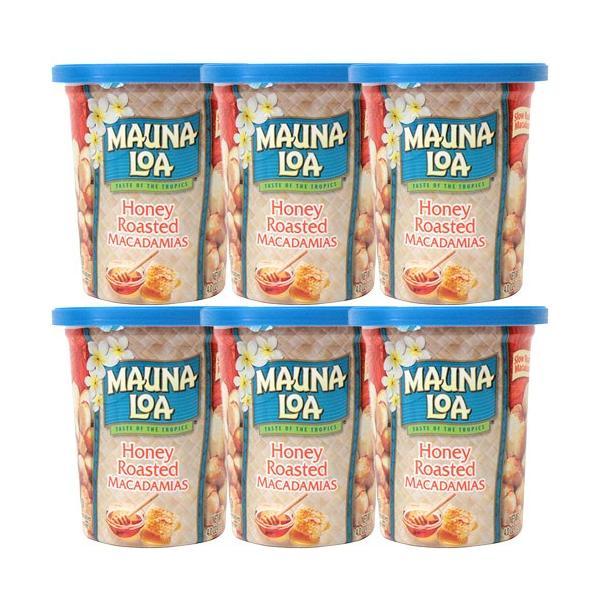 ハワイ 土産 マウナロア マカダミアナッツ ハニーロースト 6個セット 113g×6 お菓子