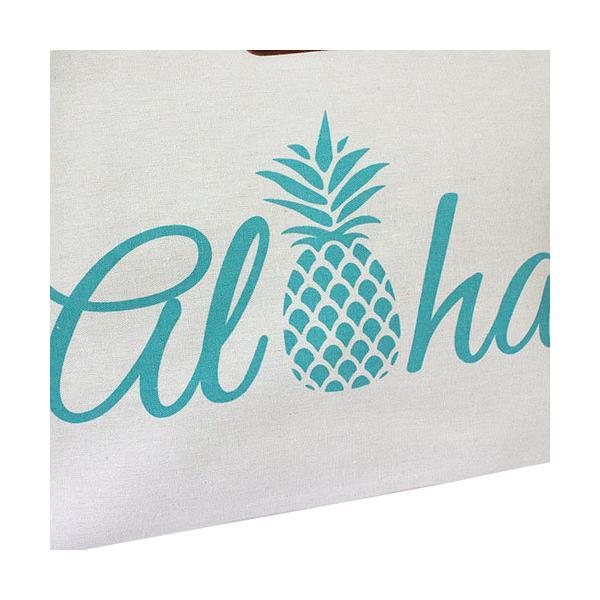 バッグ レディース トート 普段使い 旅行 Island Heritage ロープハンドルビーチトートバッグ アロハパイナップル 可愛い おしゃれ ハワイアン雑貨 clara-hawaii 04