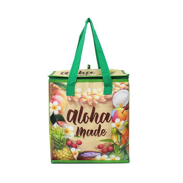 ハワイアン雑貨 保冷バッグ クーラーバッグ バッグ アロハメイド ハワイ トート おしゃれ 可愛い Island Heritage 保温保冷トートバッグ