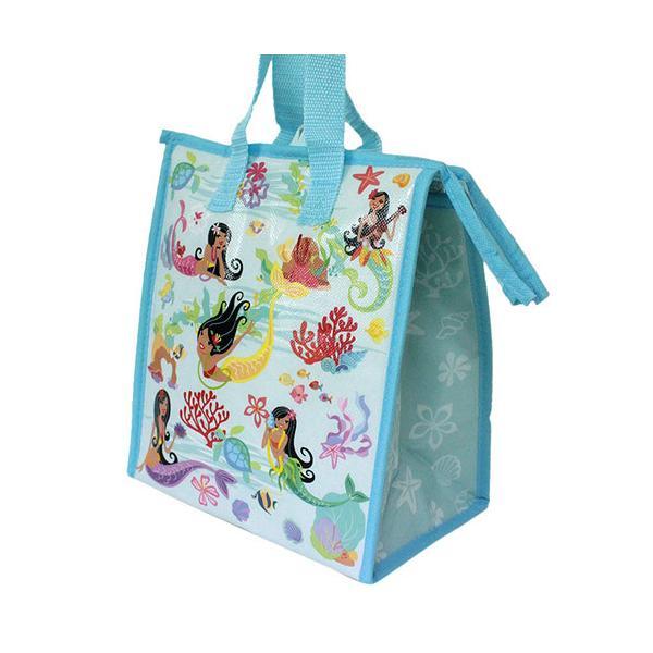 ハワイアン雑貨 保冷バッグ おしゃれ ランチバッグ ハワイ スモール ランチバッグ アイランドフラマーメイド Island Heritage ネコポス 送料無料