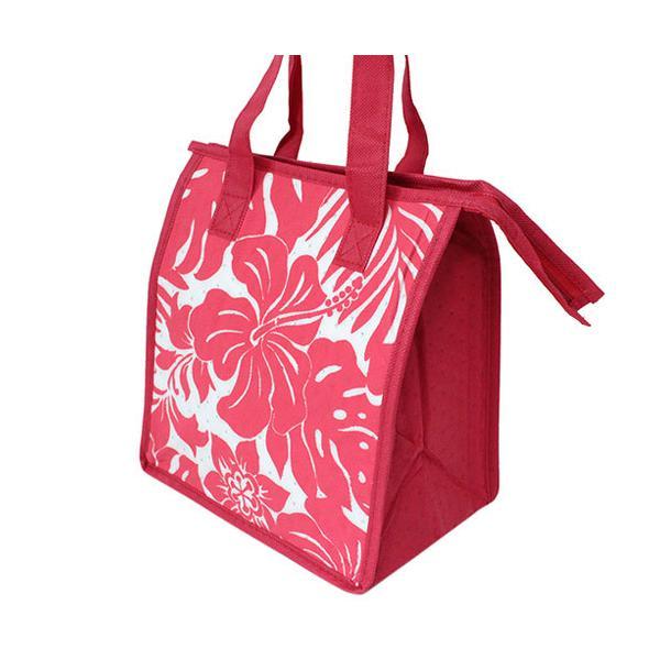 ハワイアン雑貨 保冷バッグ おしゃれ ランチバッグ ハワイ スモール ランチバッグ ハイビスカスフローラル Island Heritage ネコポス 送料無料