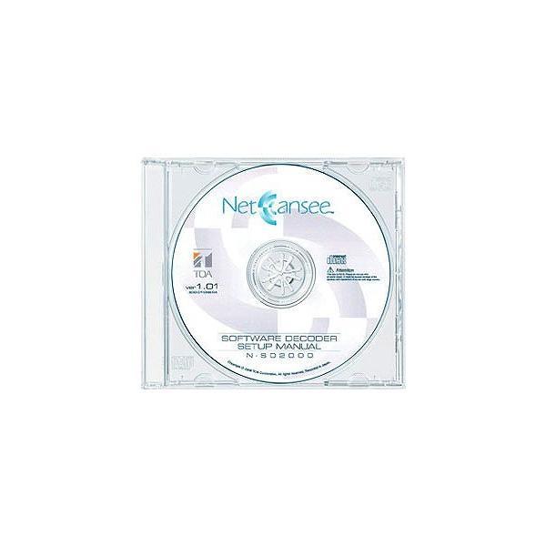 TOA 映像ネットワークシステム ネットワーク ソフトウェアデコーダー N-SD2000
