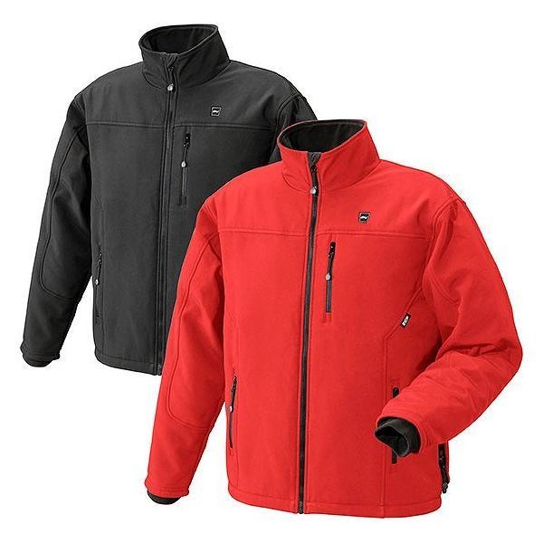 BHJ リョービ 充電式ヒートジャケット 赤色 Lサイズ (684504A)|clasell