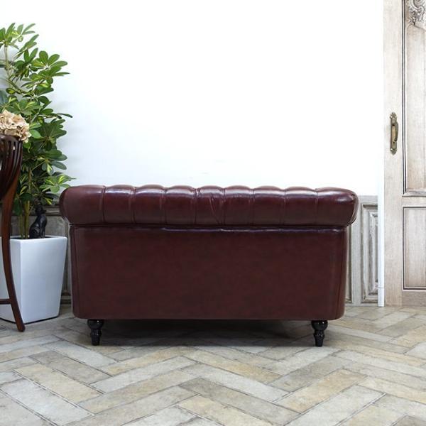 ダブルソファ ヴィンセント 長椅子 アームソファ 英国 イングランド アンティーク ヴィンテージ ハイグレード レトロ シャビー VC2P56K|classic-de-modern|06