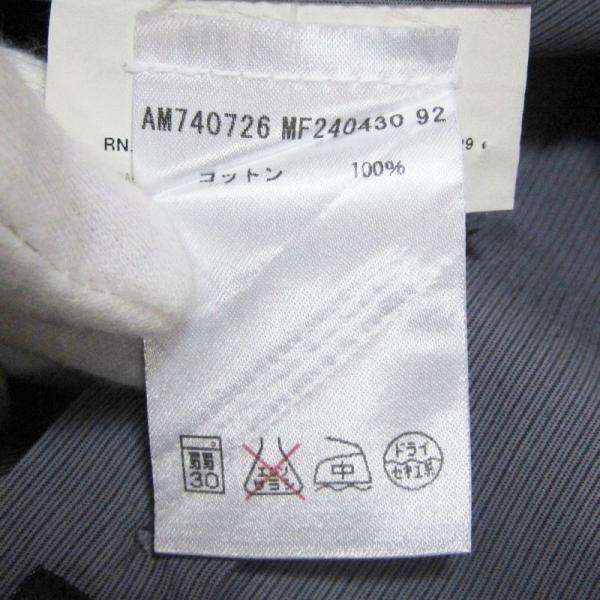 JIL SANDER ジルサンダー 長袖ドレスシャツ ストライプ ボタンダウン グレー 14.5 メンズ  中古 27002336|classic|08