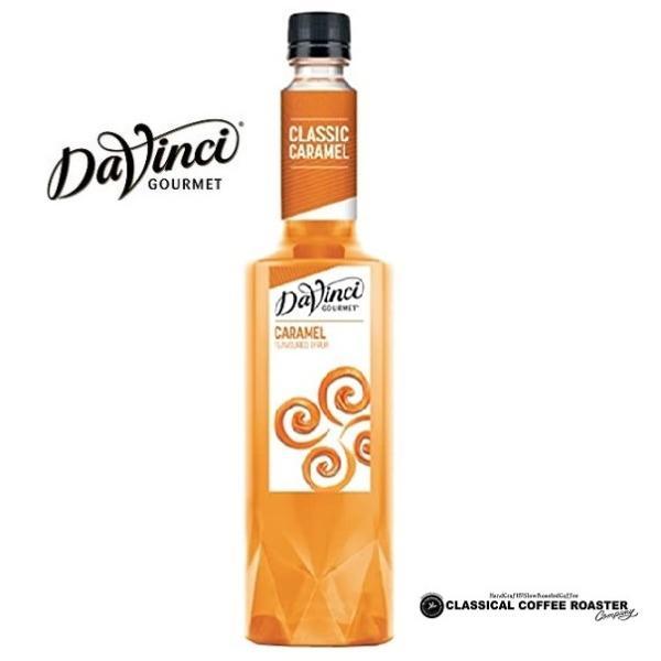 ダヴィンチ フレーバーシロップ キャラメル CARAMEL  750ml Davinci|classicalcoffee