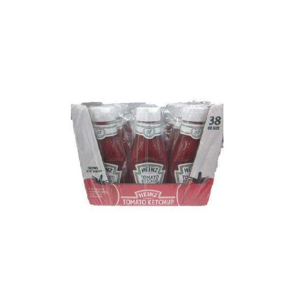HEINZ ハインツ トマトケチャップ クリアボトル 業務用 1070G×12本 (1ケース)