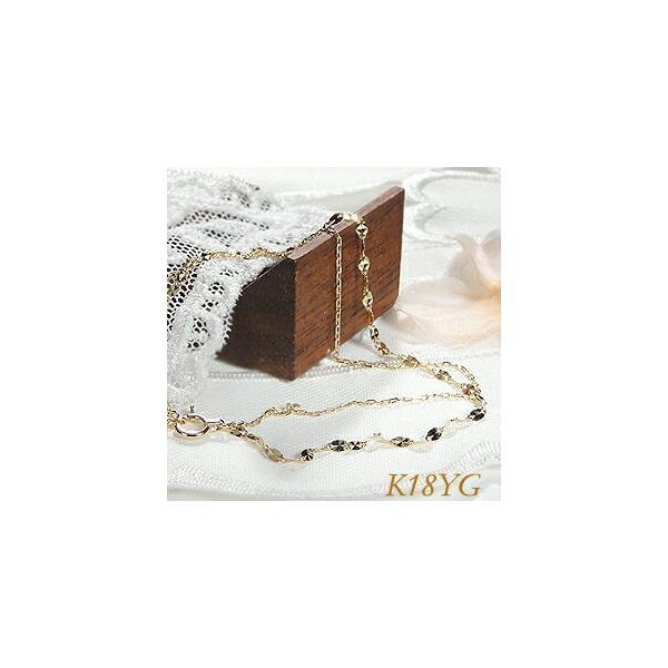 K18YGWGゴールドデザインチェーンブレスレットゴールドブレス二連チェーン可愛いブレス腕輪人気ギフトプレゼントCSBL0002