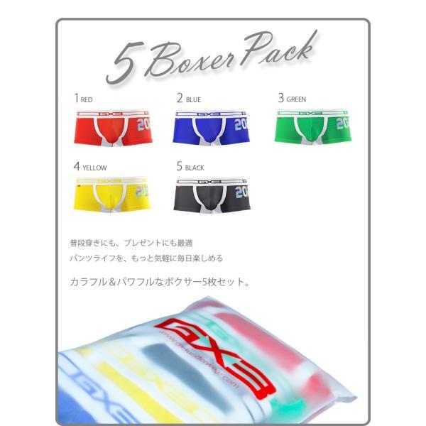 5枚パンツセット GX3/ジーバイスリー SPORTS air ナンバリング ボクサーパンツ|cleaclea|19