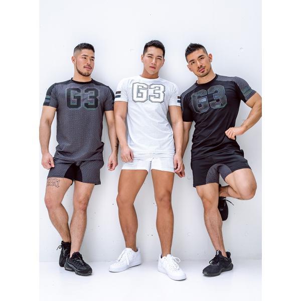 GX3/ジーバイスリー SPORTS air ロゴ Tシャツ cleaclea 02