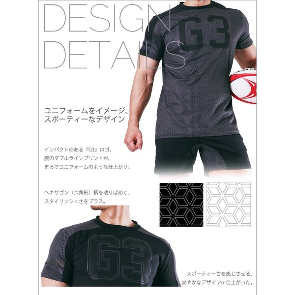 GX3/ジーバイスリー SPORTS air ロゴ Tシャツ|cleaclea|15