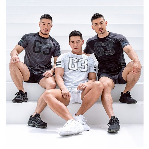 GX3/ジーバイスリー SPORTS air ロゴ Tシャツ cleaclea 07