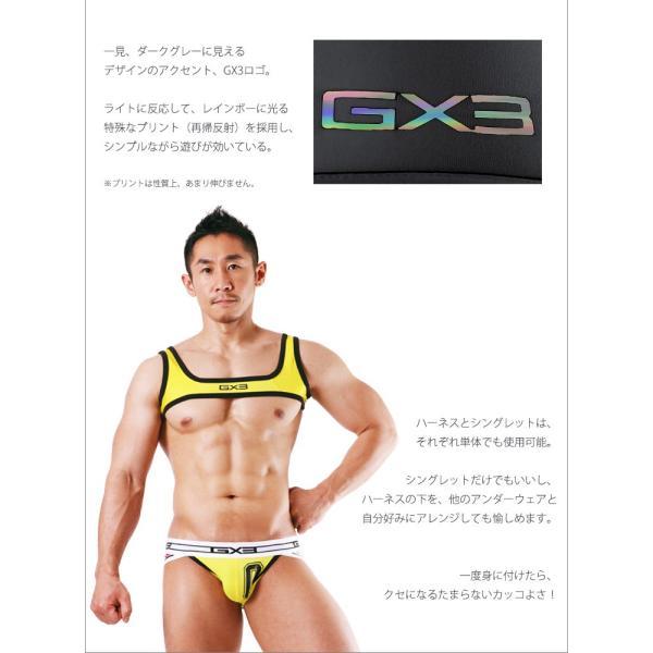 GX3/ジーバイスリー SPORTS air ハーネス&シングレット|cleaclea|15