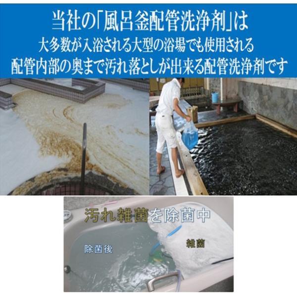 業務用 風呂釜配管洗浄剤 DXセット|cleanbuyshop|03