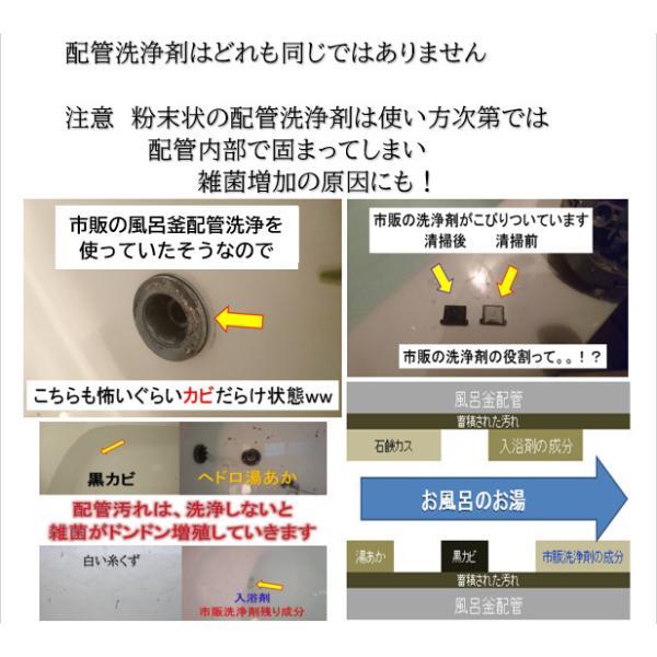 業務用 風呂釜配管洗浄剤 DXセット|cleanbuyshop|04