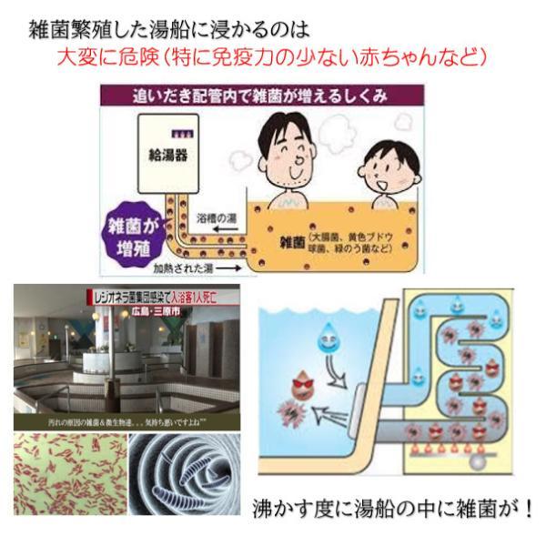 業務用 風呂釜配管洗浄剤 DXセット|cleanbuyshop|06