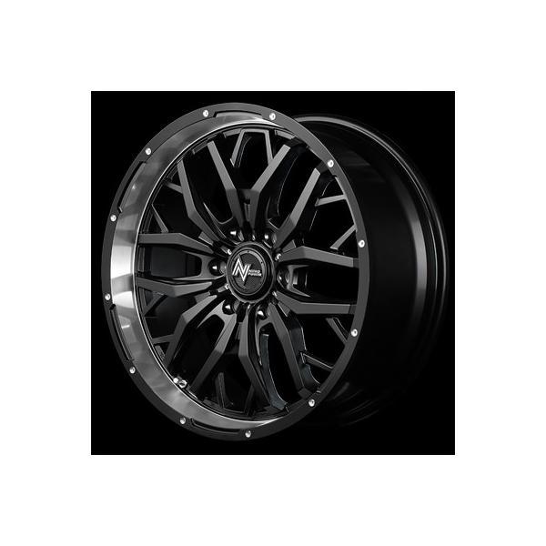 NV350 キャラバン ナイトロパワー ガジェット SB2 17x6.5 +48 6H-139.7 グッドイヤー ナスカー 215/60R17 4本セット E25 E26 タイヤ ホイール NITRO POWER|cleaveonline