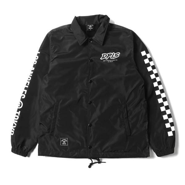 023a3af9b03b DEEP LIFESTYLE SUPPLY CO. ディープライフスタイルサプライ DREAMING COACH JACKET コーチジャケット  BLACK ブラック ...