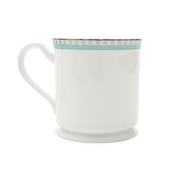 ティファニー プラチナブルーバンド マグカップ 2個セット ペア マグ 結婚祝い あすつく 新築祝い 新品 TIFFANY & CO. WHITE cliffedge 04