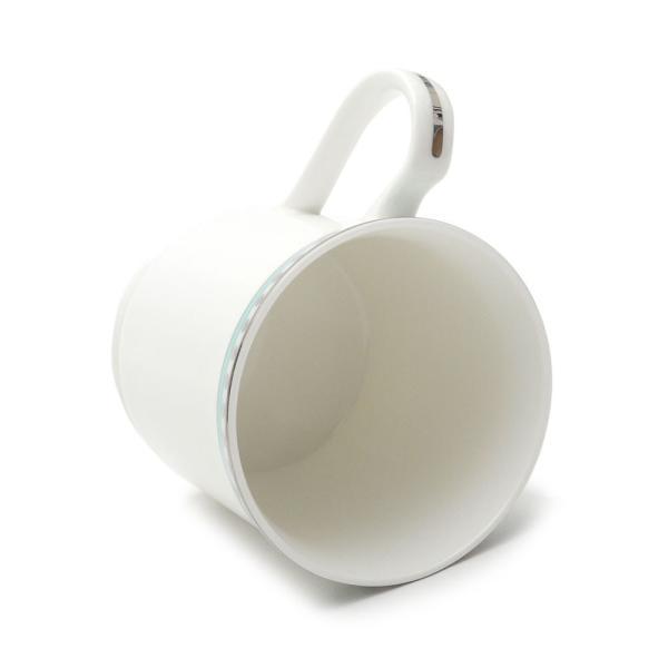 ティファニー プラチナブルーバンド マグカップ 2個セット ペア マグ 結婚祝い あすつく 新築祝い 新品 TIFFANY & CO. WHITE cliffedge 05