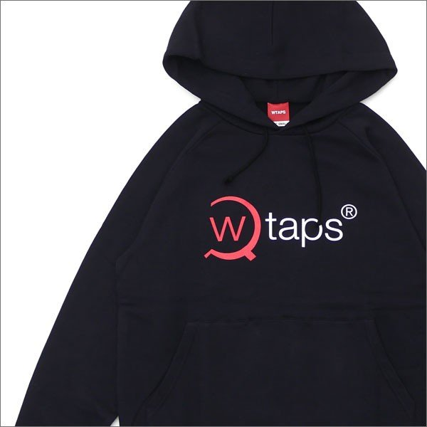 WTAPS (ダブルタップス) AXE PULLOVER PARKA (スウェットパーカー) 172ATDT-HP01S BLACK 211-000525-031-【新品】(SWT/HOODY)|cliffedge