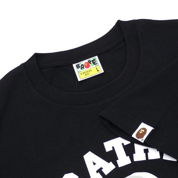 A BATHING APE (エイプ) CITY CAMO COLLEGE TEE (Tシャツ) BLACKxWHITE 1E30-110-020 200-007824-051x【新品】(半袖Tシャツ)|cliffedge|04