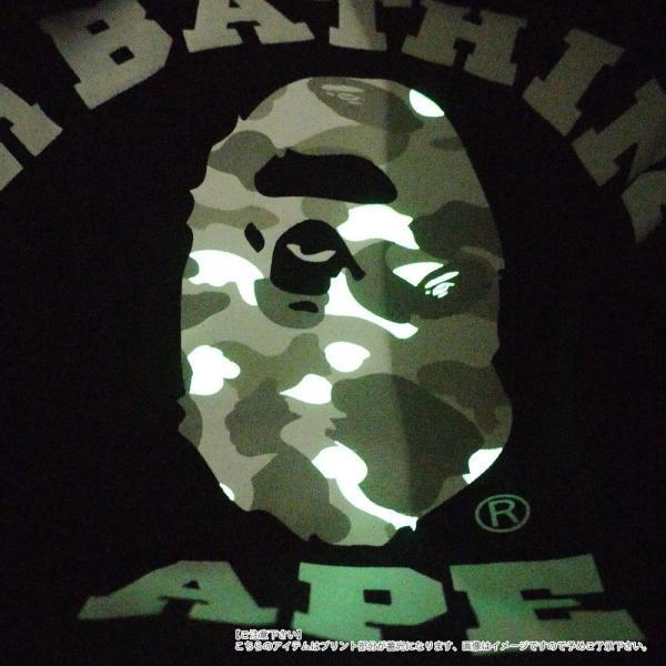 A BATHING APE (エイプ) CITY CAMO COLLEGE TEE (Tシャツ) BLACKxWHITE 1E30-110-020 200-007824-051x【新品】(半袖Tシャツ)|cliffedge|05