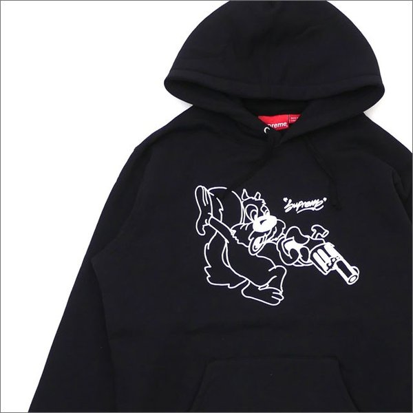 e066eb1926e8 SUPREME(シュプリーム) Lee Hooded Sweatshirt (スウェットパーカー) BLACK 211-000579- ...