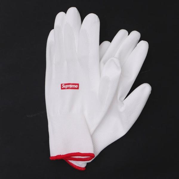 新品 シュプリーム SUPREME 非売品 RUBBERIZED GLOVES ゴム手袋 WHITE ホワイト 白 290005296010 グッズ