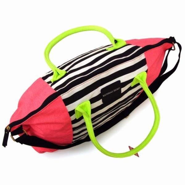 【送料無料】ヴィクトリアシークレット バッグ VICTORIA'S SECRET ビクトリア ボストンバッグ ショルダーバッグ 2way ピンク ブラック|climb-f|04