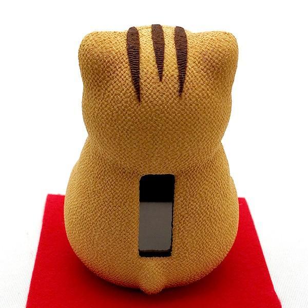 お正月飾り 亥(いのしし) の置物 ちりめん Pケース入り 「ソーラーいのしし」  リュウコドウ  日本製(京都) かわいい亥年のお正月飾り|clipboad|05