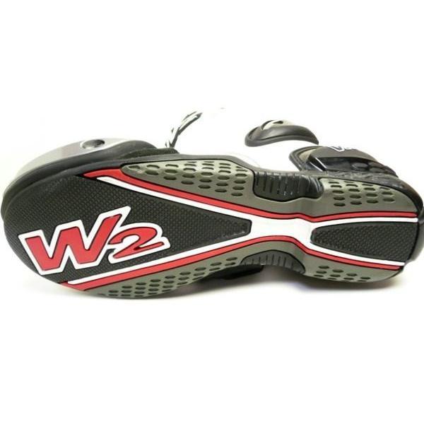 W2ブーツ アドリアSR(ホワイト)|clippingpointstore|02