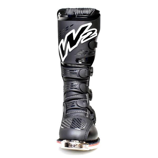 W2ブーツ E-MX9(ブラック)|clippingpointstore|02
