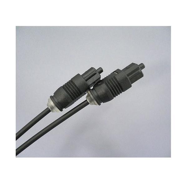 光ケーブル[スリムタイプ]角型プラグ⇔角型プラグ 5m HK-50