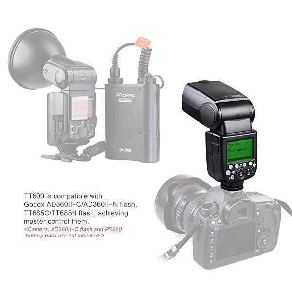 Thinklite TT600 フラッシュ スピードライト マスター/スレーブフラッシュ with 内蔵 2.4G ワイヤレストリガ・システムGN60 For ... clorets 03