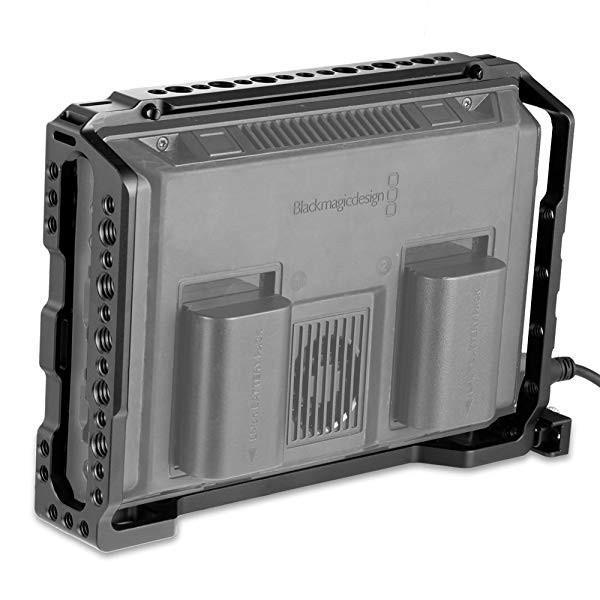 モニター(7'')専用ケージ blackmagic video assist 7ケージ ビデオアシスト カメラアクセサリー 一眼レフ 撮影機材-1830