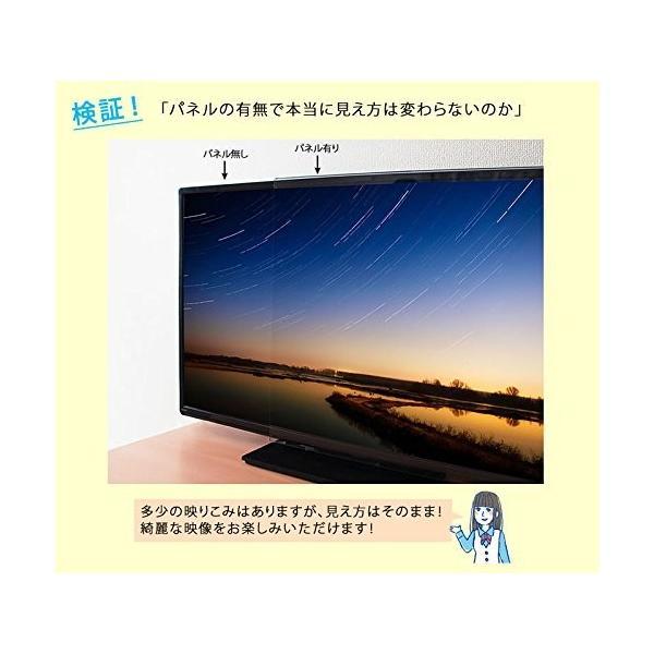 液晶テレビ保護パネル 43型 43インチ クリアパネル T43-B