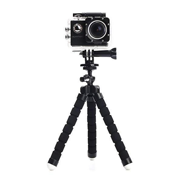 伸縮ポール アクションカメラ用 ティルト雲台付き                                                                          ... clorets 03